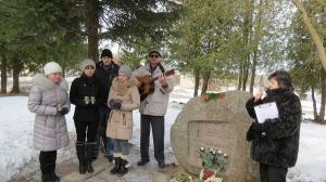 Komunistiskā genocīda upuru piemiņas dienas pasākums pie piemiņas akmens_2
