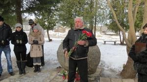 Komunistiskā genocīda upuru piemiņas dienas pasākums pie piemiņas akmens_6