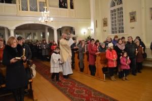Kunga Augšāmcelšanās svētku vigilija (26.03.2016)